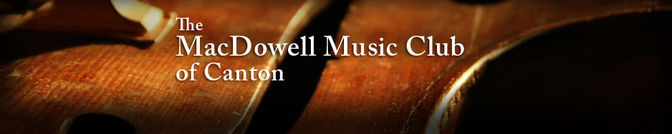 The Macdowell Music Club of Canton